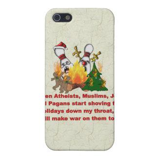 Porqué hay guerra en navidad iPhone 5 funda