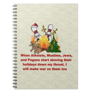 Porqué hay guerra en navidad libro de apuntes