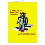 Porqué hizo la cruz del robot el camino felicitaciones