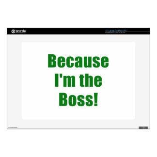 Porque Im Boss Skins Para 38,1cm Portátil
