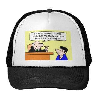 porqué juez del abogado del alquiler gorra