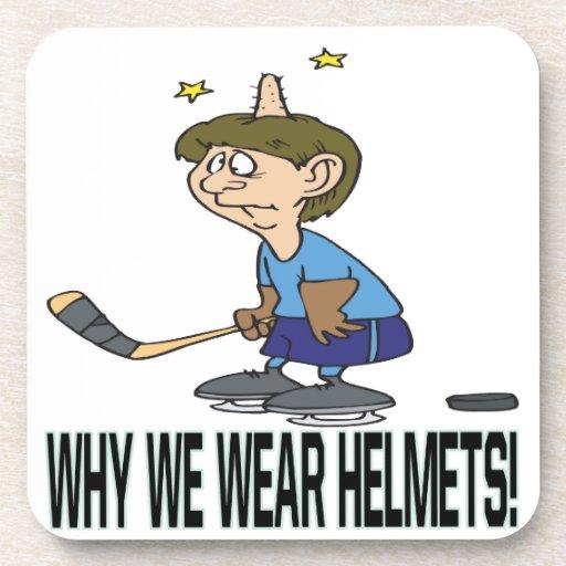 Porqué llevamos cascos posavaso