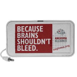 Porque los cerebros no deben sangrar altavoces