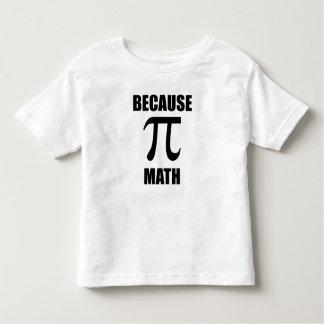 Porque matemáticas remera