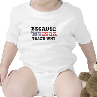 Porque 'Merica Traje De Bebé