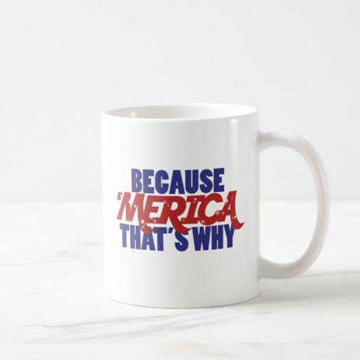 Porque MERICA que es por qué Taza De Café