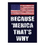 Porque 'MERICA que es porqué es patriótico vaya de Comunicados Personales