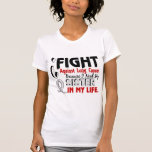 Porque necesito mi cáncer de pulmón de la hermana camisetas