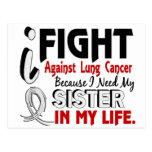 Porque necesito mi cáncer de pulmón de la hermana postal