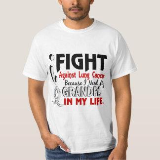 Porque necesito mi cáncer de pulmón del abuelo remeras