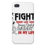 Porque necesito mi cáncer de pulmón del papá iPhone 4/4S fundas