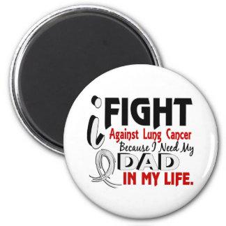 Porque necesito mi cáncer de pulmón del papá imán redondo 5 cm
