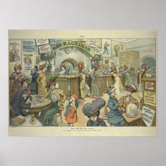 """Porqué no ir el límite?"" (1909) Póster"