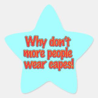 Porqué no lo hacen más cabos del desgaste de la calcomanías forma de estrellas personalizadas