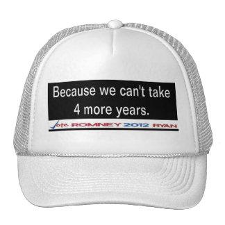 Porque no podemos tomar casquillo de 4 más años gorros