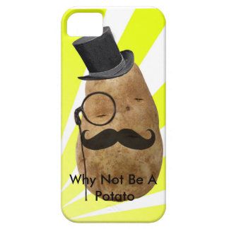 Porqué no ser una patata funda para iPhone 5 barely there