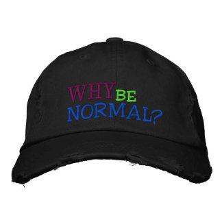 Porqué sea gorra de béisbol normal - apenada