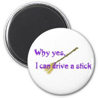 Porqué sí, puedo conducir un palillo imán redondo 5 cm