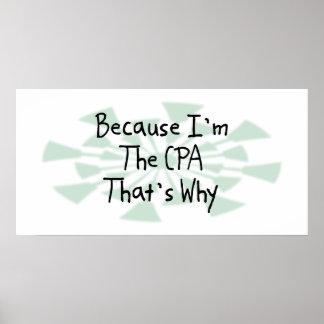 Porque soy CPA Póster