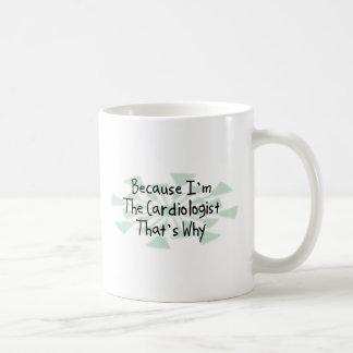 Porque soy el cardiólogo taza de café