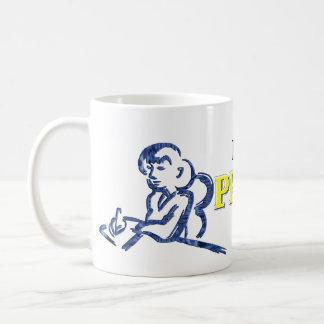 Porque soy el productor, ése es por qué tazas de café