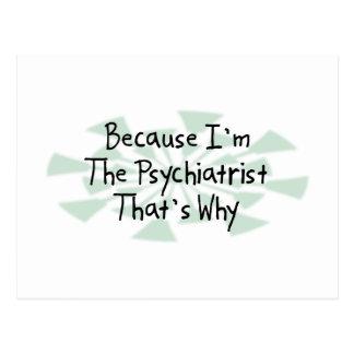 Porque soy el psiquiatra postales
