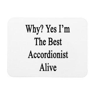 Porqué soy sí el mejor acordeonista vivo iman flexible