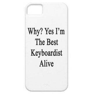 Porqué soy sí el mejor teclista vivo iPhone 5 protector