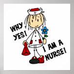 Porqué soy sí enfermera posters