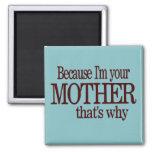 Porque soy su madre - imán