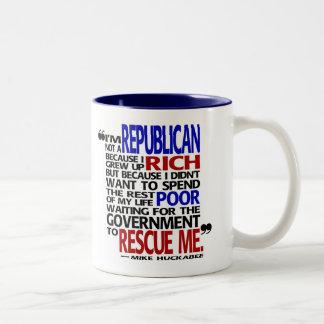 Porqué soy un republicano - taza