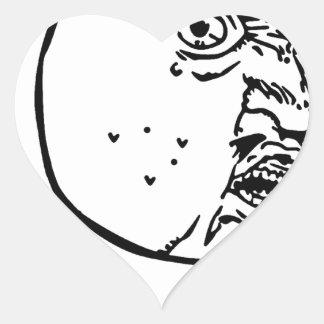 Porqué usted ningún pegatina en forma de corazón