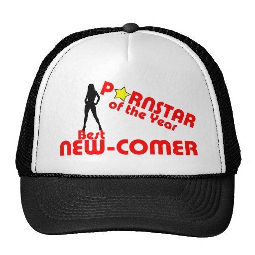 Porstar del año - el mejor nuevo asistente gorra