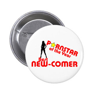 Porstar of the year - Best new comer 2 Inch Round Button