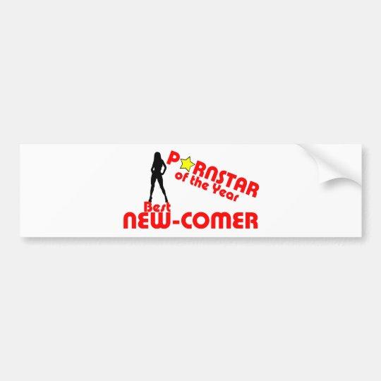 Porstar of the year - Best new comer Bumper Sticker
