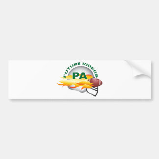 Port Angeles B Green Bumper Sticker