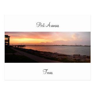 Port Aransas (Panoramic) #8 Postcard
