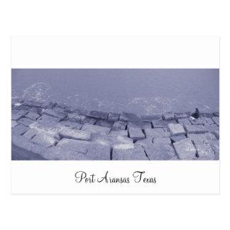 Port Aransas (Panoramic) La Pesca Postcard