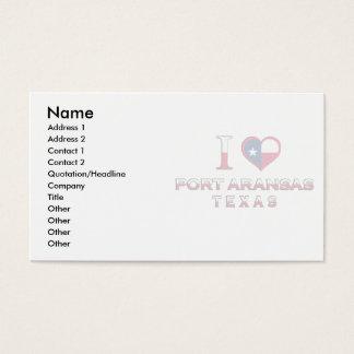 Port Aransas, Texas Business Card