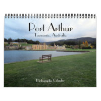 port arthur 2021 calendar