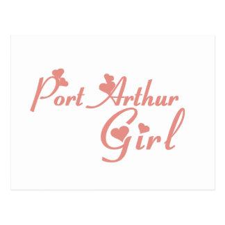 Port Arthur Girl tee shirts Postcard