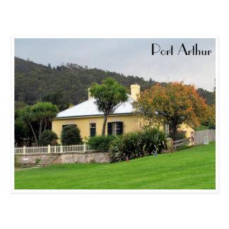 port arthur house postcard