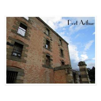 port arthur prison postcard
