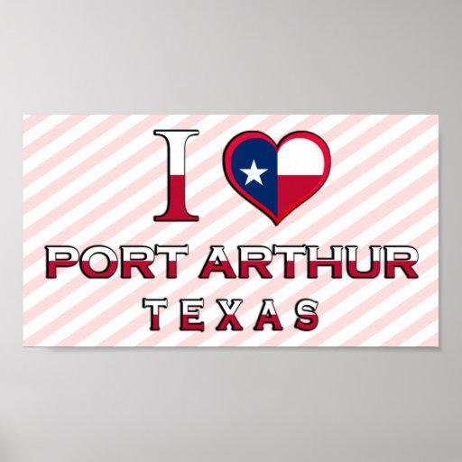 Port Arthur, Tejas Impresiones