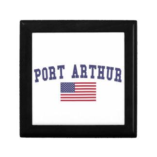 Port Arthur US Flag Gift Box