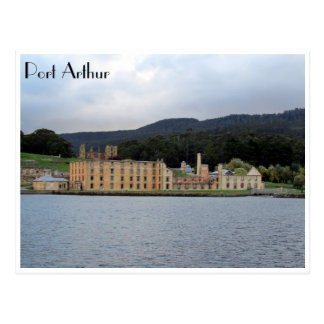port arthur waters postcard
