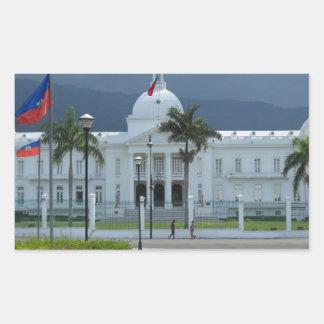 Port au Prince, Haiti Rectangular Sticker