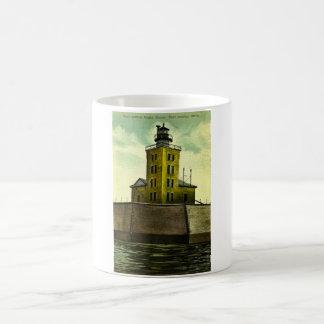 PORT AUSTIN MICHIGAN postcard lighthouse Coffee Mug