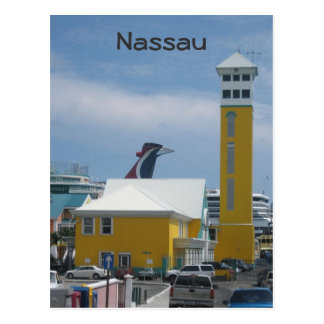 Port authority building postcard