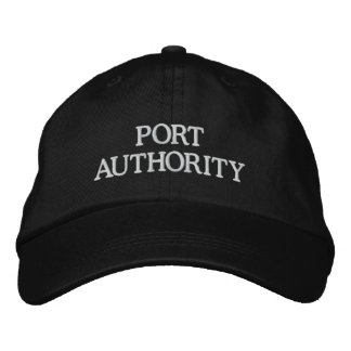 PORT AUTHORITY EMBROIDERED BASEBALL HAT